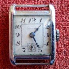 Relojes de pulsera: CAJA DE RELOJ MARCA TURIA AÑOS 30 (2891) 2 X 3 CM (APROX). Lote 159045178