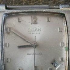Relojes de pulsera: ANTIGUO RELOJ SUIZO TITAN 17 RUBIS. Lote 159065901