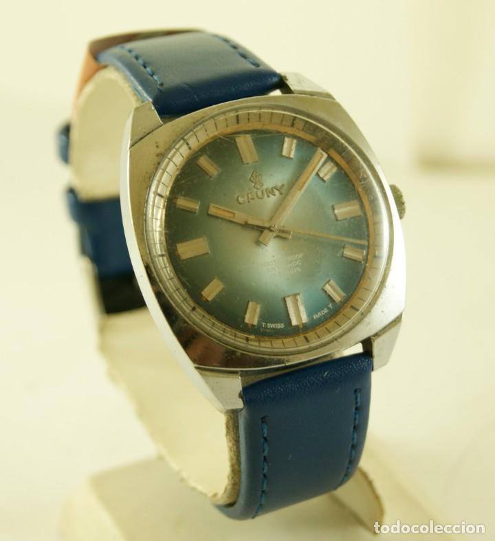 Relojes de pulsera: CAUNY MECANICO FUNCIONANDO 36.2MM - Foto 2 - 185505372
