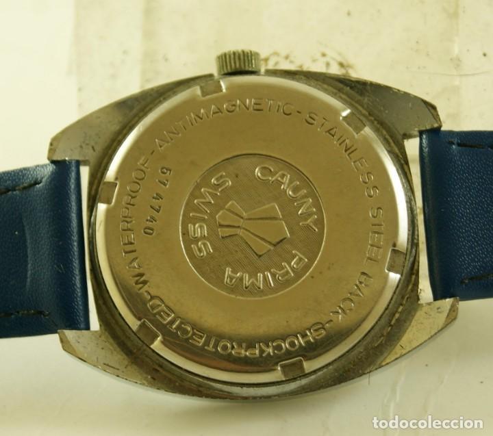 Relojes de pulsera: CAUNY MECANICO FUNCIONANDO 36.2MM - Foto 3 - 185505372