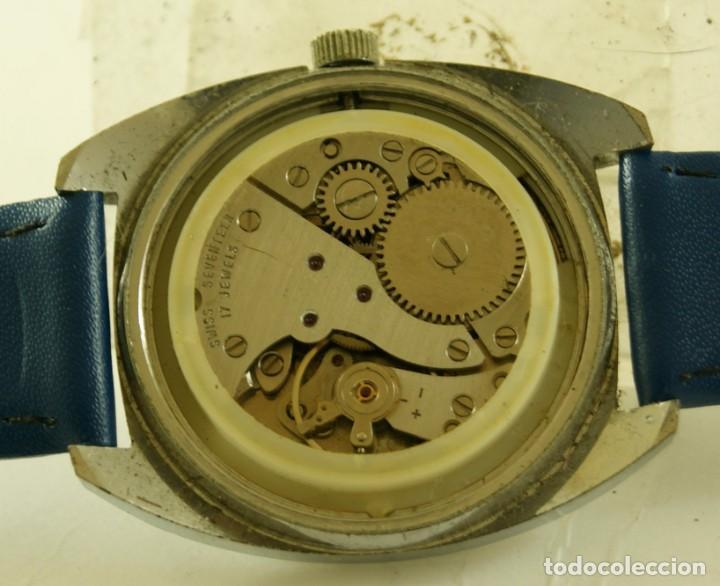Relojes de pulsera: CAUNY MECANICO FUNCIONANDO 36.2MM - Foto 4 - 185505372