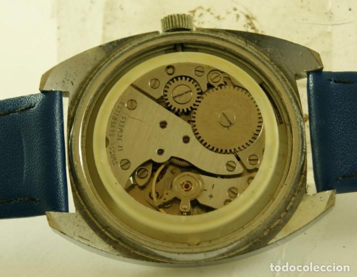 Relojes de pulsera: CAUNY MECANICO FUNCIONANDO 36.2MM - Foto 5 - 185505372