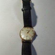 Relojes de pulsera: RELOJ TECHNOS SUIZO DE CUERDA CHAPADO , MUY BUEN ESTADO. Lote 159215552