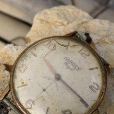 Relojes de pulsera: RELOJ KARDEX/UNIVERSAL GENEVE VINTAGE AÑOS50. Lote 159241760