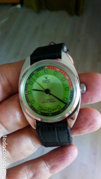 Relojes de pulsera: VINTAGE RELOJ DEPORTIVO CAMY SUIZO CUERDA NUEVO. - Foto 4 - 159348810