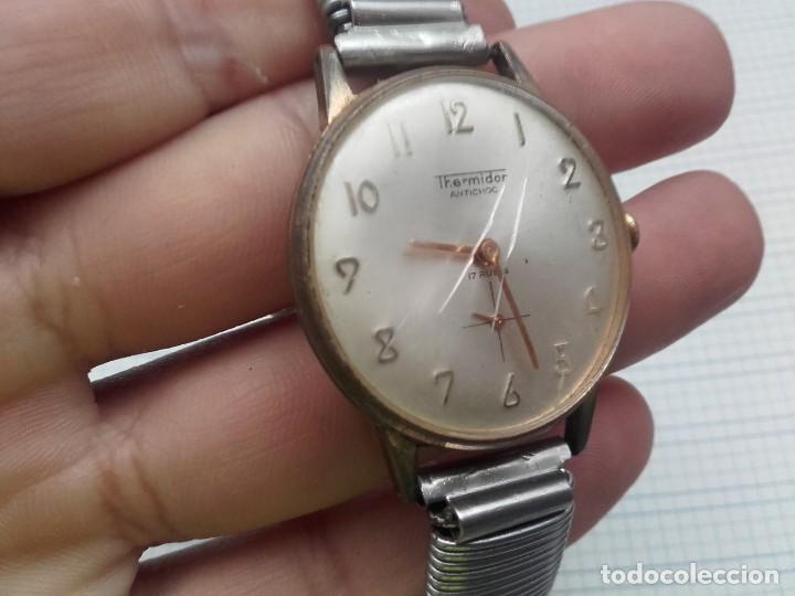 Relojes de pulsera: Thermidor carga manual cal. FE 233-60 funciona pero a veces se para necesita limpieza y aceite - Foto 3 - 159382742