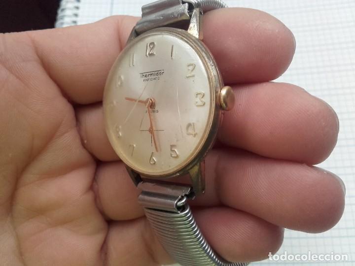 Relojes de pulsera: Thermidor carga manual cal. FE 233-60 funciona pero a veces se para necesita limpieza y aceite - Foto 4 - 159382742