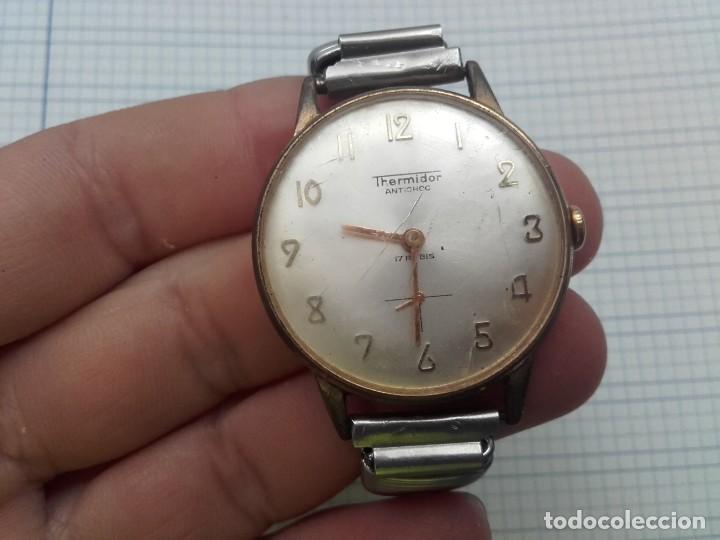 Relojes de pulsera: Thermidor carga manual cal. FE 233-60 funciona pero a veces se para necesita limpieza y aceite - Foto 8 - 159382742