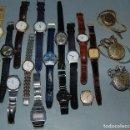 Relojes de pulsera: LOTE RELOJES VARIAS MARCAS (LOTUS, DUWARD, GQ, LUXOR, CENTRAL SUIZA, SWATCH, LUXOR, SEIKO,.....). Lote 160139590