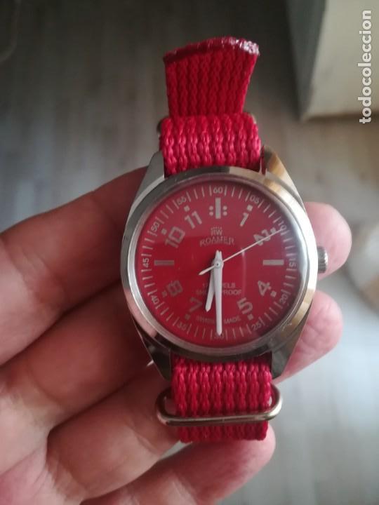 Relojes de pulsera: VINTAGE RELOJ SUIZO ROAMER NUEVO. - Foto 2 - 160219882