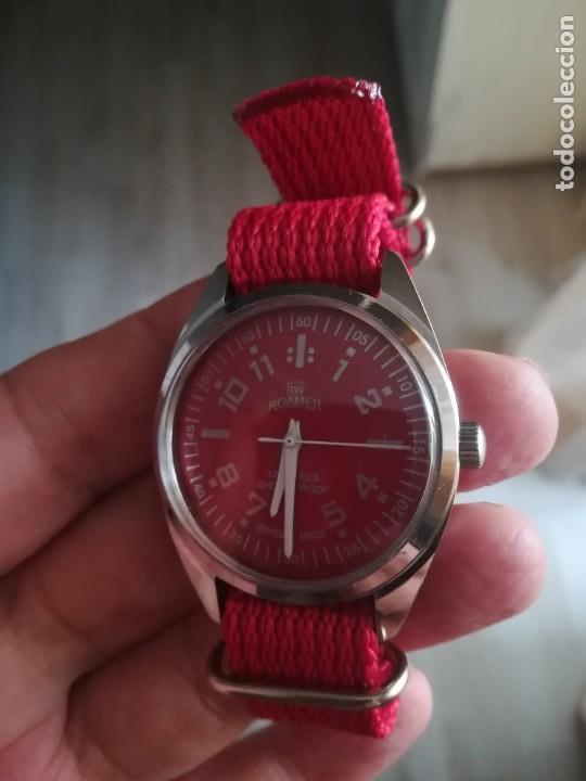 Relojes de pulsera: VINTAGE RELOJ SUIZO ROAMER NUEVO. - Foto 3 - 160219882