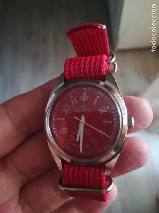 Relojes de pulsera: VINTAGE RELOJ SUIZO ROAMER NUEVO. - Foto 4 - 160219882