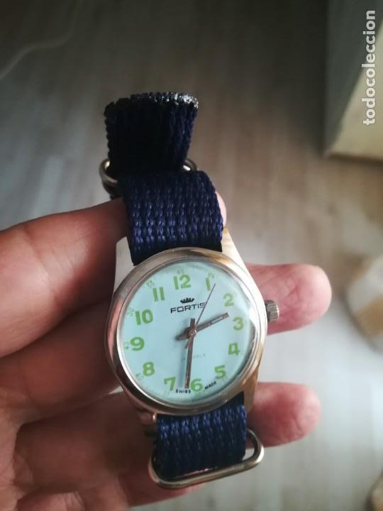 Relojes de pulsera: VINTAGE RELOJ SUIZO FORTIS NUEVO. - Foto 2 - 160220386