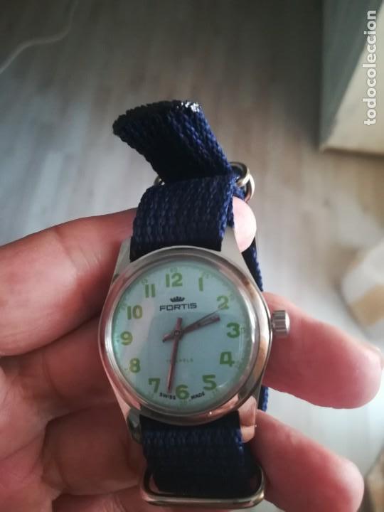 Relojes de pulsera: VINTAGE RELOJ SUIZO FORTIS NUEVO. - Foto 3 - 160220386