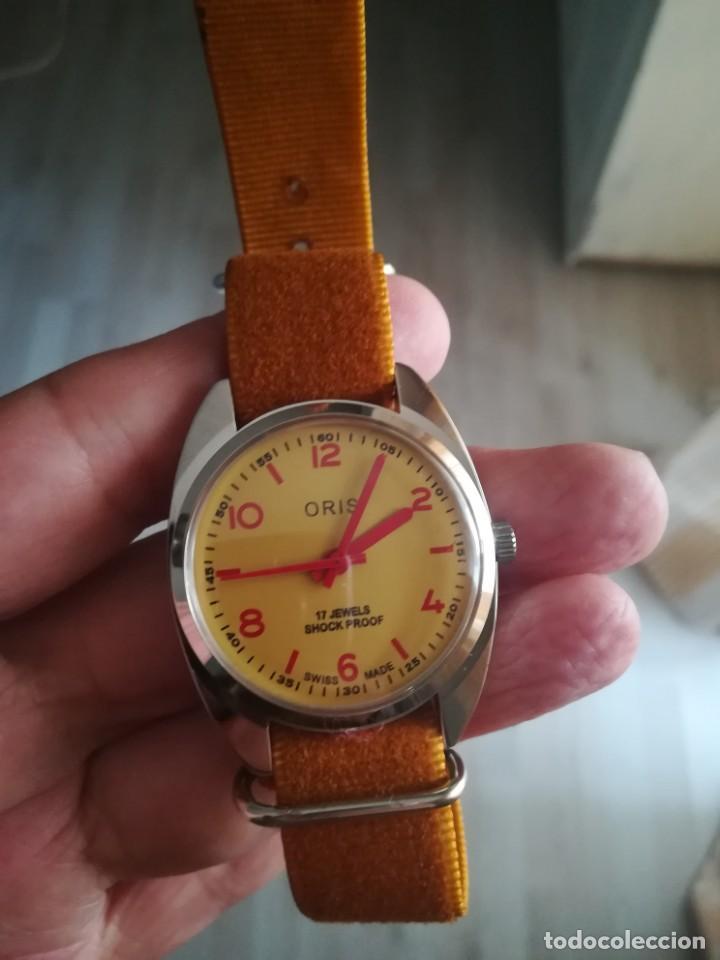 Relojes de pulsera: VINTAGE RELOJ SUIZO ORIS NUEVO. - Foto 2 - 160220994
