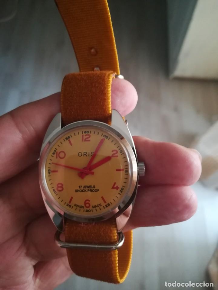 Relojes de pulsera: VINTAGE RELOJ SUIZO ORIS NUEVO. - Foto 3 - 160220994