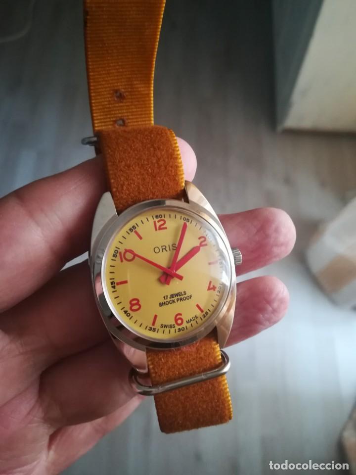 Relojes de pulsera: VINTAGE RELOJ SUIZO ORIS NUEVO. - Foto 4 - 160220994