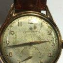 Relojes de pulsera: RELOJ BUSER FRERES CARGA MANUAL CAJA CHAPADA ORO Y MAQUINARIA SWISS MADE B180. Lote 160390661