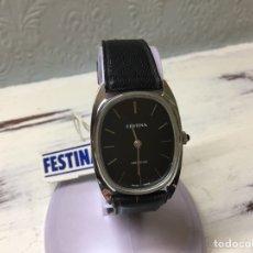 Relojes de pulsera: RELOJ DE CARGA MANUAL FESTINA AÑOS 60. Lote 160403737