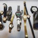 Relojes de pulsera: RELOJES LOTE 12 SEIKO,CITIZEN,RADINT ,ETC. Lote 160413890