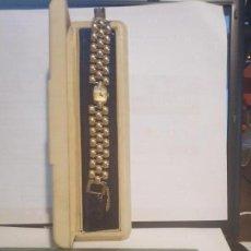 Relojes de pulsera: HAMILTON 12/14 K GOLD MUJER SIN USO. CAJA/ ESTUCHE ORIGINALES. Lote 195075240