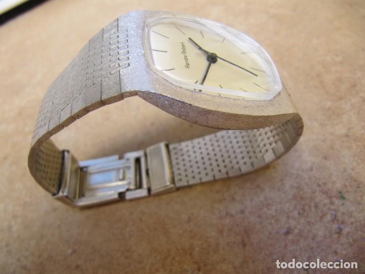 Relojes de pulsera: ANTIGUO RELOJ DE CUERDA DE PLATA RENÉE ROBERT - Foto 10 - 160679534
