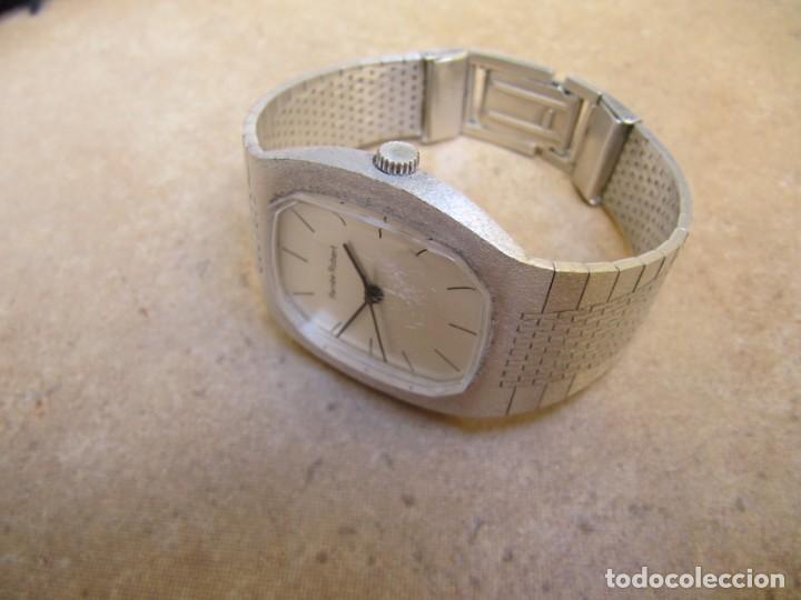 Relojes de pulsera: ANTIGUO RELOJ DE CUERDA DE PLATA RENÉE ROBERT - Foto 11 - 160679534