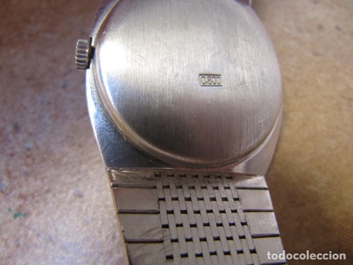 Relojes de pulsera: ANTIGUO RELOJ DE CUERDA DE PLATA RENÉE ROBERT - Foto 14 - 160679534