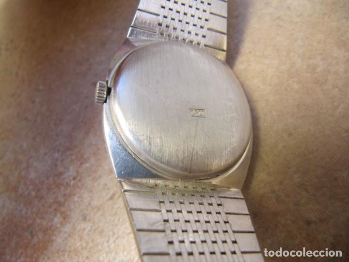 Relojes de pulsera: ANTIGUO RELOJ DE CUERDA DE PLATA RENÉE ROBERT - Foto 15 - 160679534
