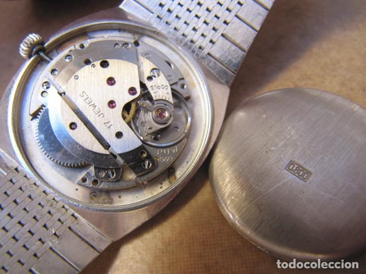 Relojes de pulsera: ANTIGUO RELOJ DE CUERDA DE PLATA RENÉE ROBERT - Foto 16 - 160679534
