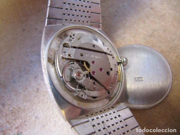 Relojes de pulsera: ANTIGUO RELOJ DE CUERDA DE PLATA RENÉE ROBERT - Foto 17 - 160679534