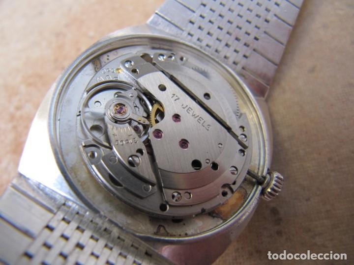 Relojes de pulsera: ANTIGUO RELOJ DE CUERDA DE PLATA RENÉE ROBERT - Foto 19 - 160679534