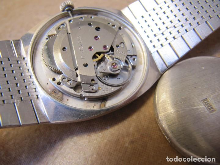 Relojes de pulsera: ANTIGUO RELOJ DE CUERDA DE PLATA RENÉE ROBERT - Foto 21 - 160679534