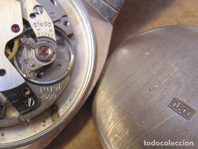 Relojes de pulsera: ANTIGUO RELOJ DE CUERDA DE PLATA RENÉE ROBERT - Foto 25 - 160679534
