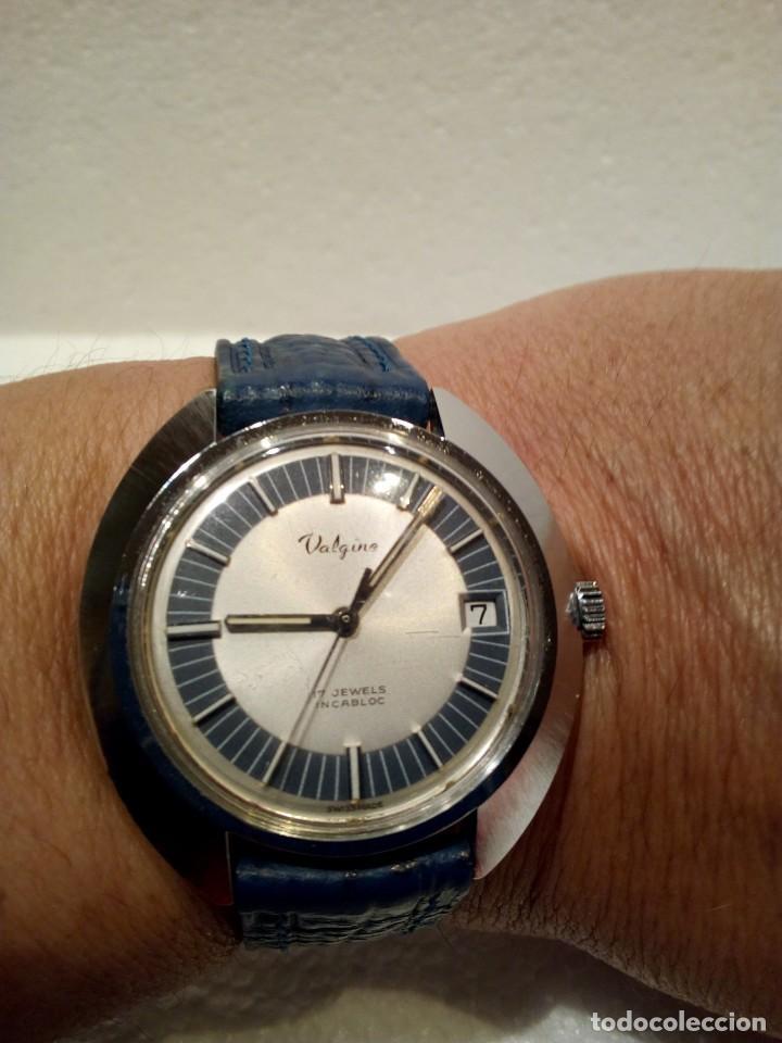 RELOJ SUIZO VALGINE AÑOS 70 CUERDA (Relojes - Pulsera Carga Manual)