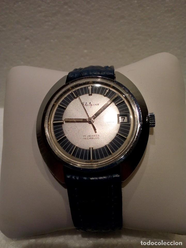 Relojes de pulsera: Reloj Suizo Valgine años 70 cuerda - Foto 2 - 160739322