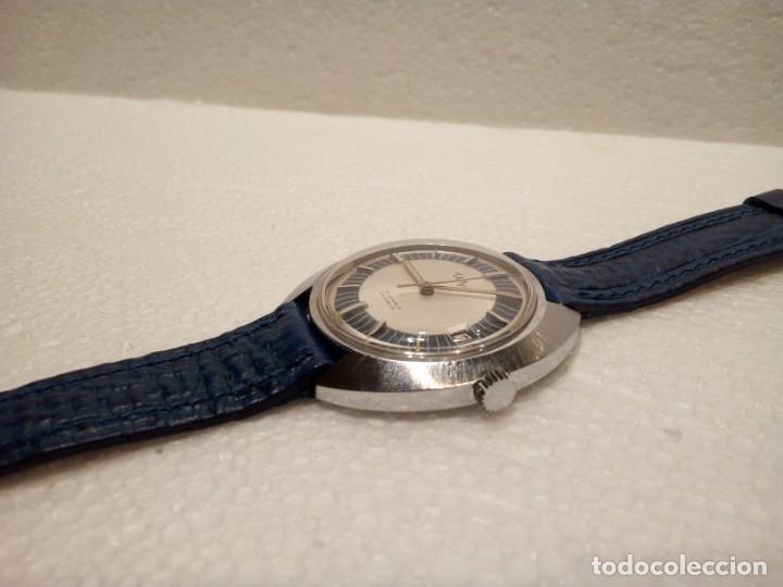 Relojes de pulsera: Reloj Suizo Valgine años 70 cuerda - Foto 3 - 160739322