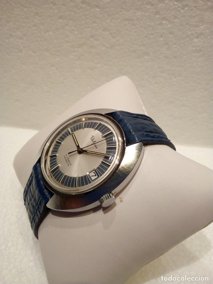 Relojes de pulsera: Reloj Suizo Valgine años 70 cuerda - Foto 4 - 160739322