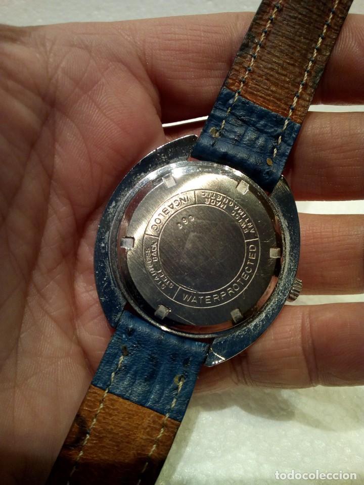 Relojes de pulsera: Reloj Suizo Valgine años 70 cuerda - Foto 5 - 160739322