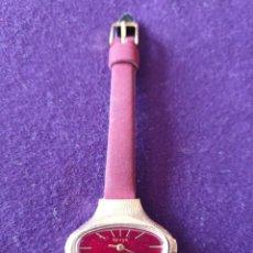 Relojes de pulsera: ANTIGUO RELOJ DE PULSERA REVUE. BAÑADO ORO. SWISS. CARGA MANUAL-CUERDA. FUNCIONANDO. MUJER. AÑOS 60. Lote 160789558