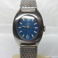 Relojes de pulsera: RELOJ CLÁSICO TORMAS DE CARGA MANUAL, PARA MUJER - CAJA 22 MM - FUNCIONA. Lote 160848614
