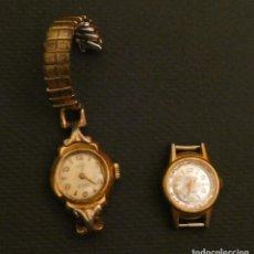 Relojes de pulsera: LOTE DOS RELOJES ANTIGUOS SIN FUNCIONAR. Lote 160895598