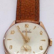 Relojes de pulsera: RELOJ DUWARD CARGA MANUAL EN FUNCIONAMIENTO CAJA CHAPADA. Lote 161101378