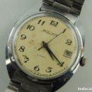Relojes de pulsera: ANTIGUO RELOJ PULSERA DE MARCA POLJOT CON CALENDARIO AÑOS 60 USSR RUSIA CARGA MANUAL. Lote 161181614