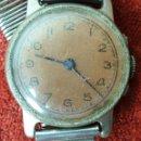 Relojes de pulsera: RELOJ DE PULSERA. ACERO INOXIDABLE. SIN MARCA. CIRCA 1950. . Lote 161342486