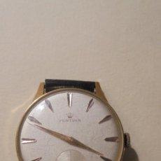 Relojes de pulsera: ANTIGUO RELOJ MECANICO MARCA FESTINA CHAPADO BUEN ESTADO FUNCIONA 4,5X3,7 CM. . Lote 161648550
