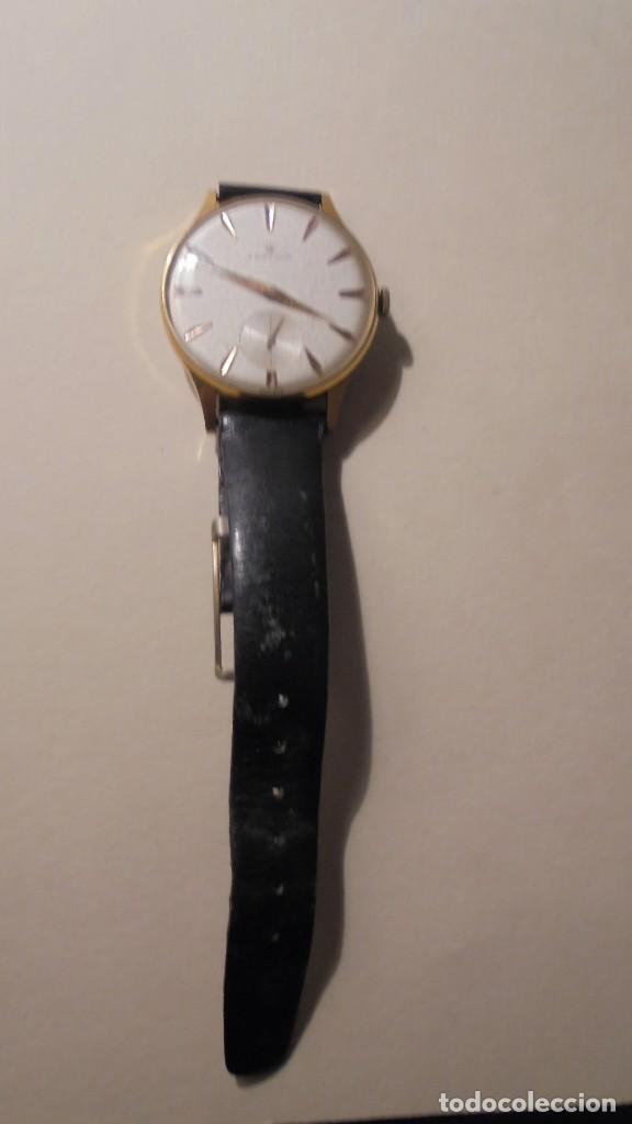 Relojes de pulsera: ANTIGUO RELOJ MECANICO MARCA FESTINA CHAPADO BUEN ESTADO FUNCIONA 4,5X3,7 CM. - Foto 2 - 161648550