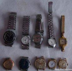 Relojes de pulsera: LOTE DE 10 RELOJES MECANICOS DIVER DOGMA... F19. Lote 270202798
