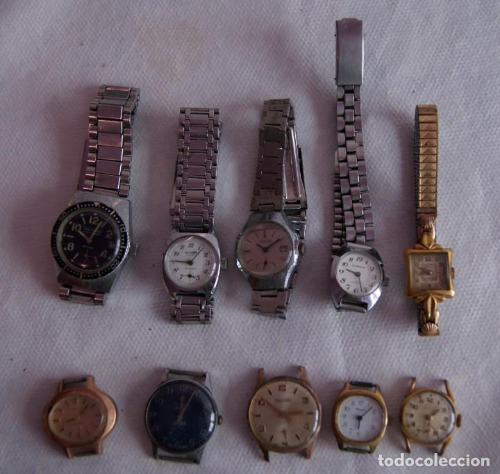 Relojes de pulsera: LOTE DE 10 RELOJES MECANICOS DIVER DOGMA... R25 - Foto 2 - 161720182
