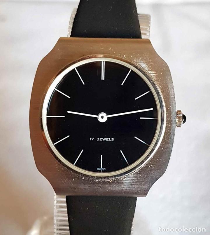 RELOJ DE CUERDA C1970, SWISS MADE, VINTAGE, NUEVO (Relojes - Pulsera Carga Manual)
